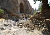 خشکسالی به میراث ساسانیان رسید+تصاویر