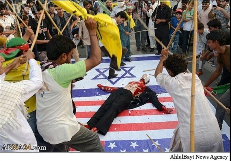 بالصور.. شوارع باکستان تغص بالمتظاهرین فی یوم القدس