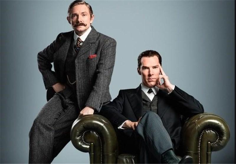 شرلوک بی بی سی بندیکت کامبربچ مارتین فریمن