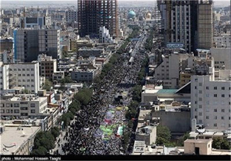 تظاهرات یوم القدس العالمی تلقی أصداء واسعة النطاق فی وسائل الاعلام العالمیة