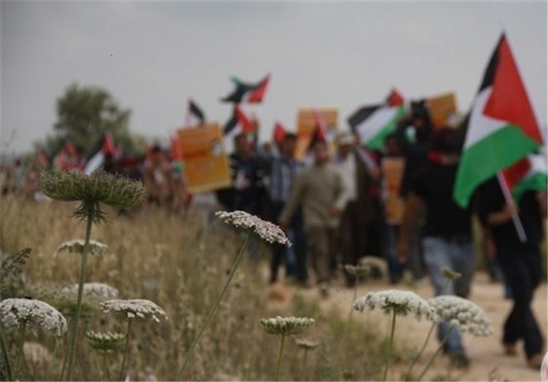 """الاحتلال یقمع مسیرة """"بیت البرکة"""" السلمیة"""