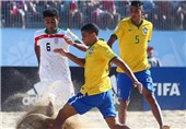 Plucky Iran Suffers Narrow Defeat to Brazil in Beach Soccer World Cup