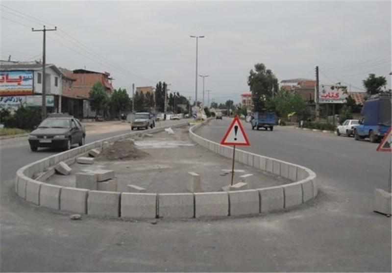 10 بریدگی غیراستاندارد در جادههای استان گلستان ایمنسازی میشود