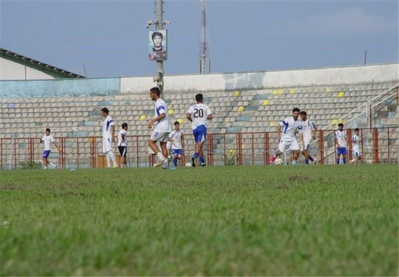 تساوی ملوان مقابل تیم لیگ یکی در بازی دوستانه