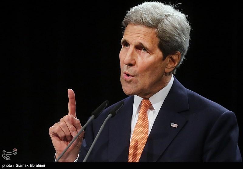 نشست خبری <a class='no-color' href='http://newsfa.ir/'>جان کری</a> در پایان مذاکرات هسته&zwnj;ای - وین