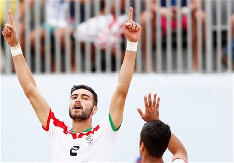 فوتبال ساحلی ایران و مکزیک