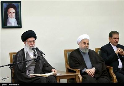 قدردانی امام خامنهای از زحمات مجدّانه و صادقانه تیم هستهای