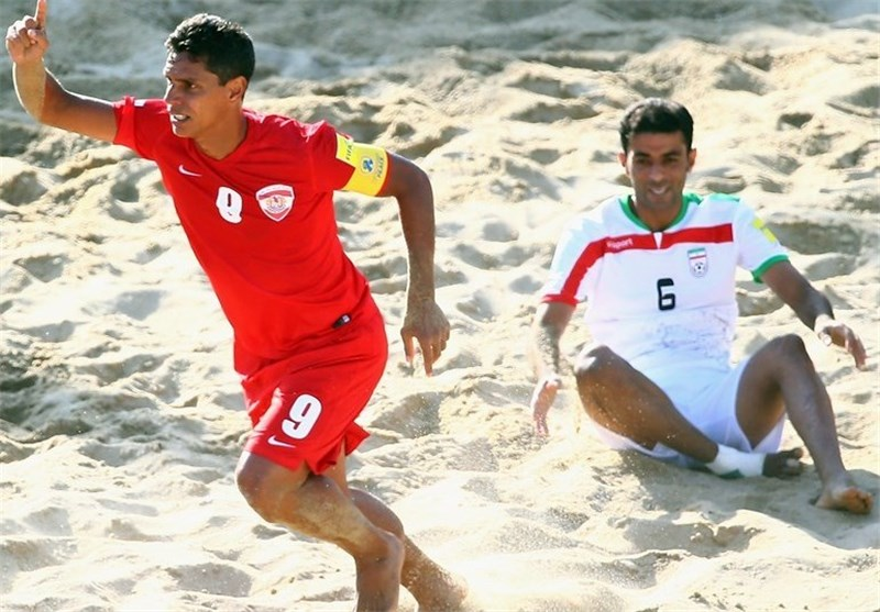 Iran Beach Soccer Downs Tahiti in Friendly