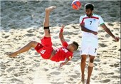 Iran Knocked Out of Beach Soccer World Cup