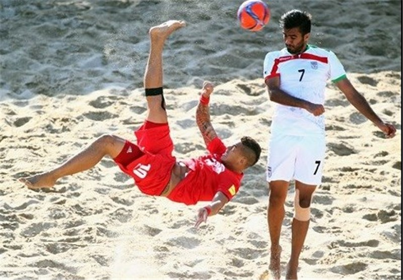 Iran Learns Rivals at Beach Soccer Intercontinental Cup