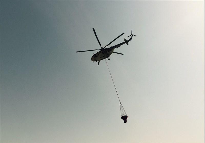 استقرار هواپیماهای آبپاش برای مقابله با آتشسوزیهای احتمالی در اراضی جنگلی گلستان
