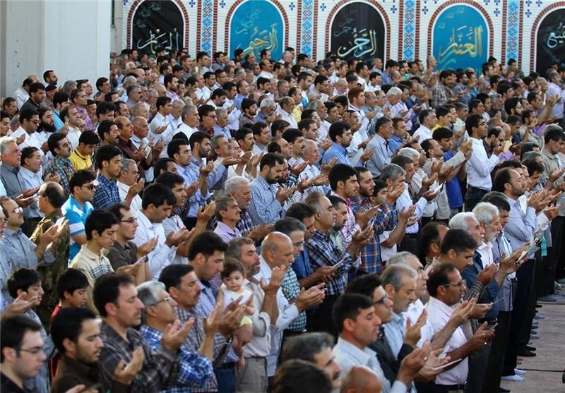 نماز عید قربان در استان اصفهان اقامه شد
