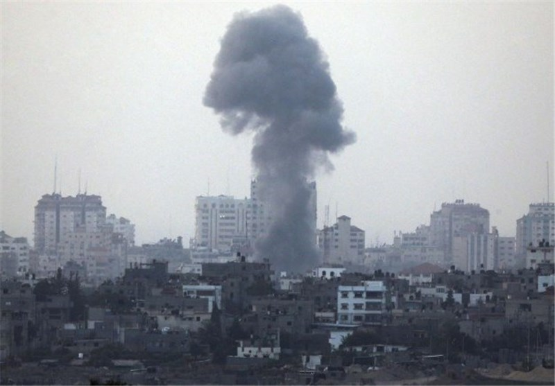 غزه انفجار