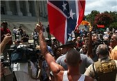 KKK, Black Panther Group Clash over Confederate Flag outside S. Carolina Capitol