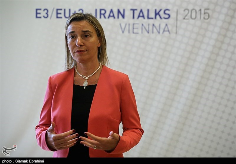 EU's Mogherini Says No Date Set for Iran Sanctions Relief