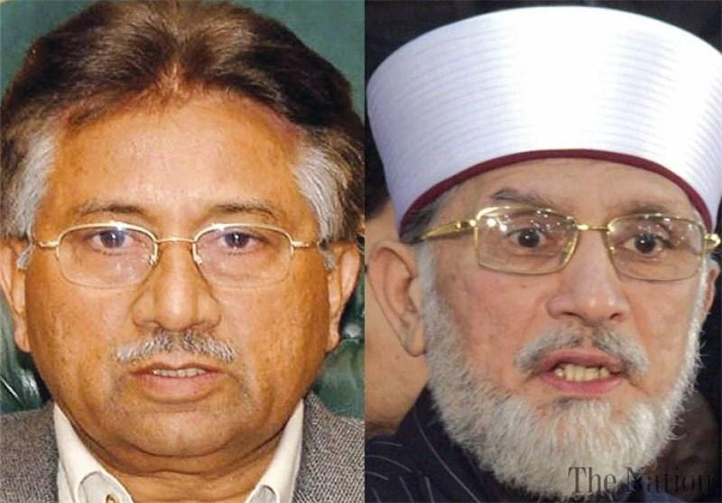 پاکستان | تلاش برای ممنوع التصویر کردن «پرویز مشرف و طاهر القادری» در آستانه اعتراضات