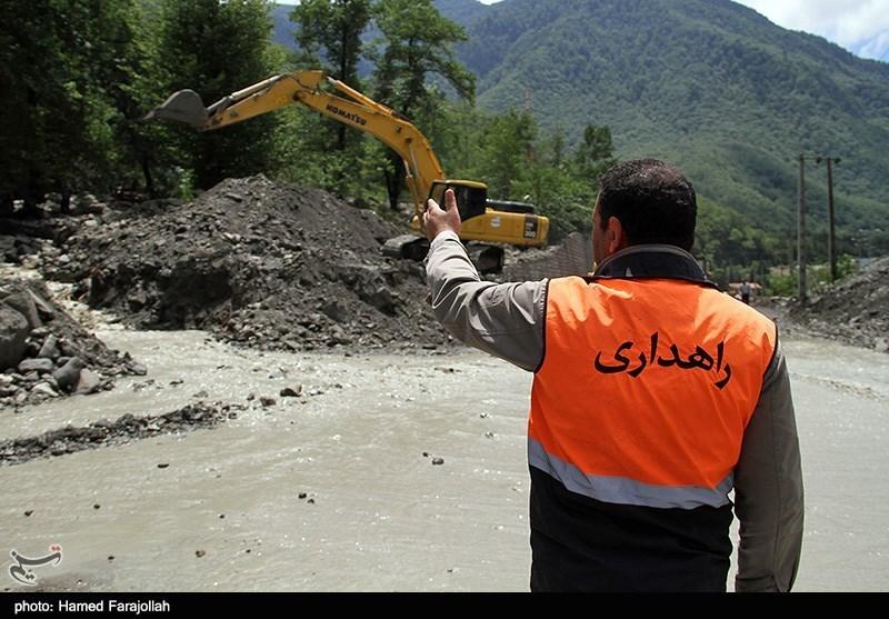 ریزش کوه و انسداد محورهای مواصلاتی استان کرمانشاه