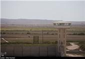 کاشت یونجه در محوطه اردوگاه محکومان مواد مخدر