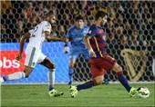 Barcelona Beats LA Galaxy 2-1 before Record Rose Bowl Crowd
