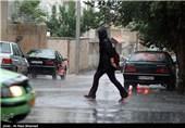 بارش رگبار در شهرکرد