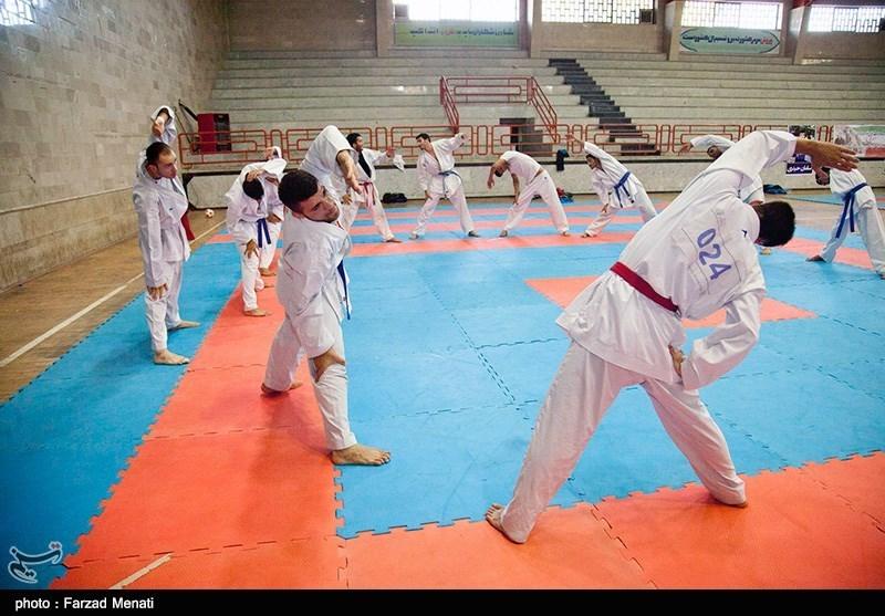 اردوی تیم ملی کاراته - کرمانشاه