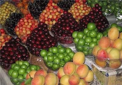 گرانی به عمده فروشی میوه رسید/ قیمت ۵ تا ۳۰ هزار تومان