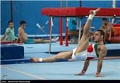 تمرین تیم ملی ژیمناستیک