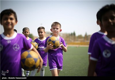 Iranian Children Attend Football Academies in Summer