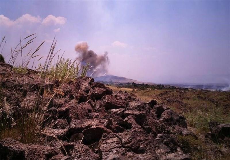 المنظمة الأوروبیة للأمن والمعلومات : المعارضة ضد الحکومة السوریة هی التی أطلقت صواریخ من القنیطرة