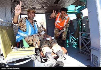 رزمایش امداد و نجات تیپ پیاده ارتش - مشهد