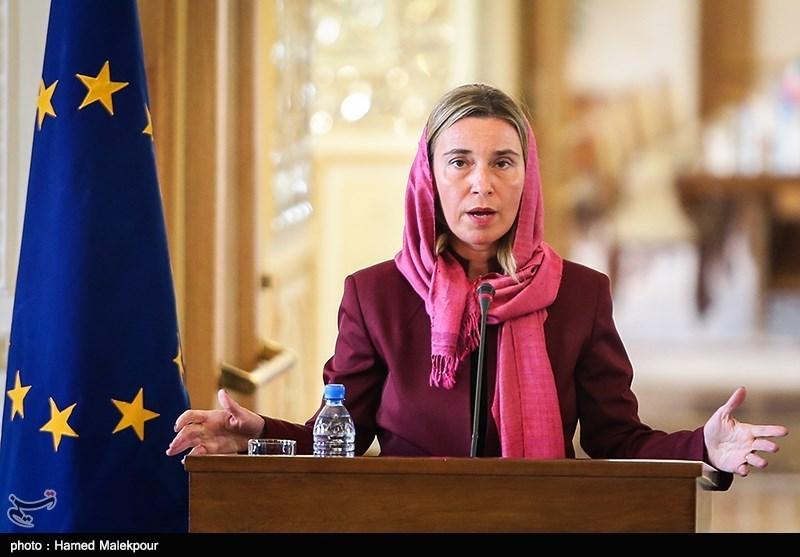 موغیرینی: الآلیة المالیة الاوروبیة مع ایران ستدخل حیز التنفیذ خلال الاسابیع القادمة