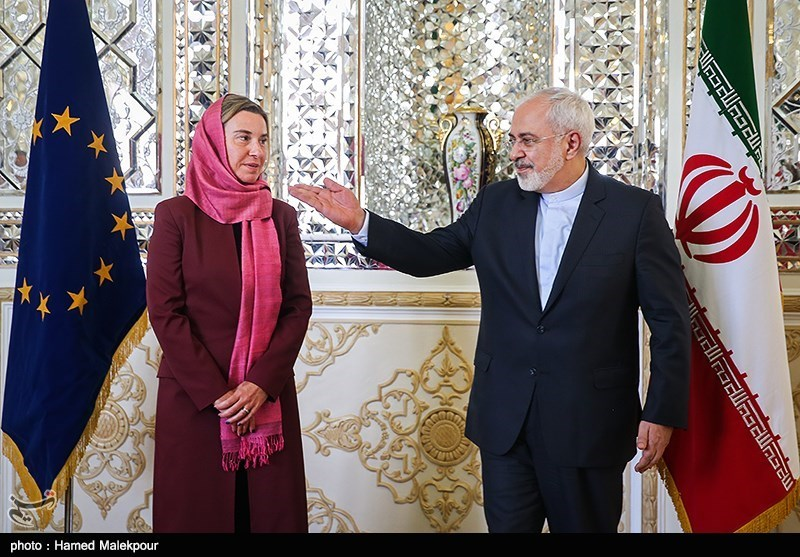 موغرینی تعلن عن زیارة مرتقبة الی ایران الاسلامیة نظرا لالغاء الحظر ضدها