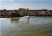 22 کیلومتر از بستر رودخانهها برای نجات خلیج گرگان لایروبی شد