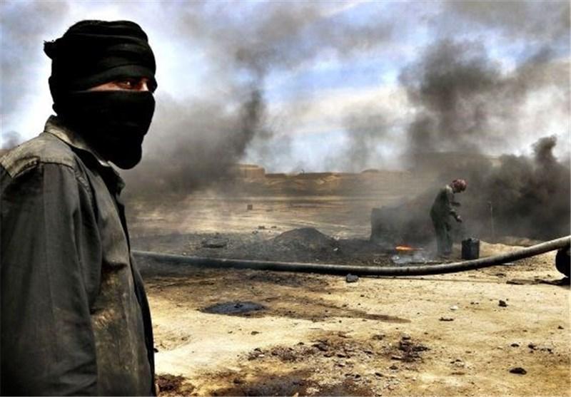 وزارت دفاع روسیه: 12 میدان نفتی در اختیار داعش در سوریه را بمباران کردیم