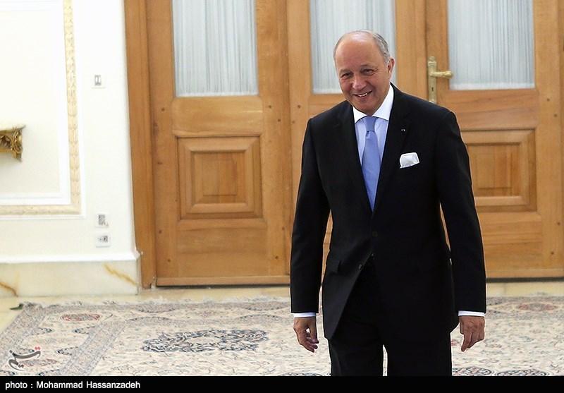 Iran's Zarif Meets French FM Fabius in Tehran
