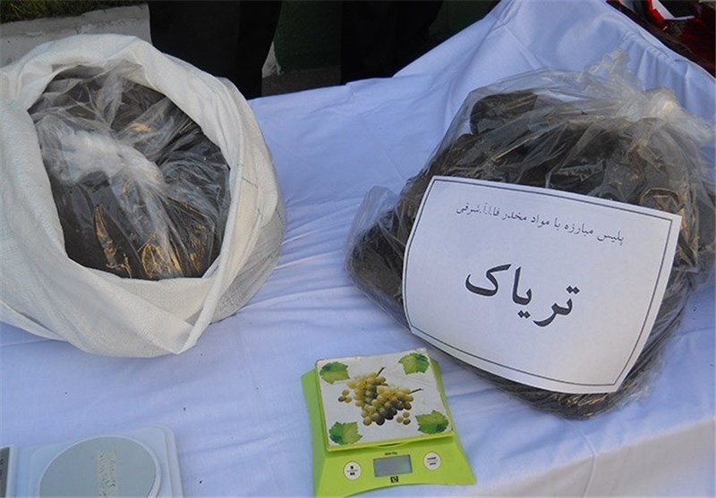 Police Seize Haul of Narcotics in Southeast Iran