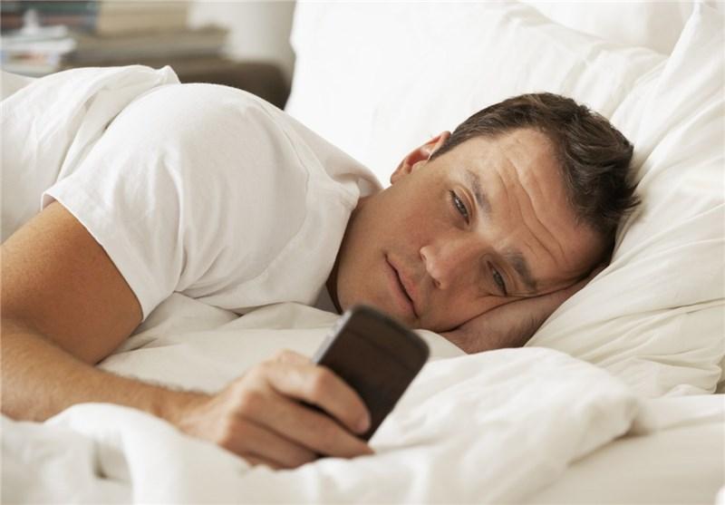 موبایل - خوابیدن - ترک عادت