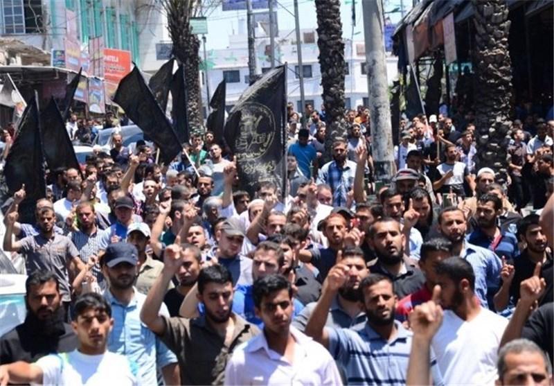 غزة: مسیرة للجهاد نصرة للقدس واستنکاراً لجریمة حرق الطفل الدوابشة