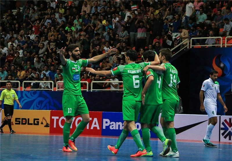 tasisat daryaei wins iran futsal super league sports news tasnim