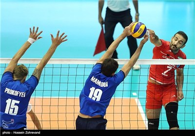 Iran Beats Kazakhstan 3-0 at Asian Senior Volleyball Championship