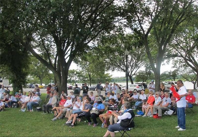 واشنطن تشهد عقد تجمعات احتجاجیة على ضعف خدمات التامین الصحی + صور