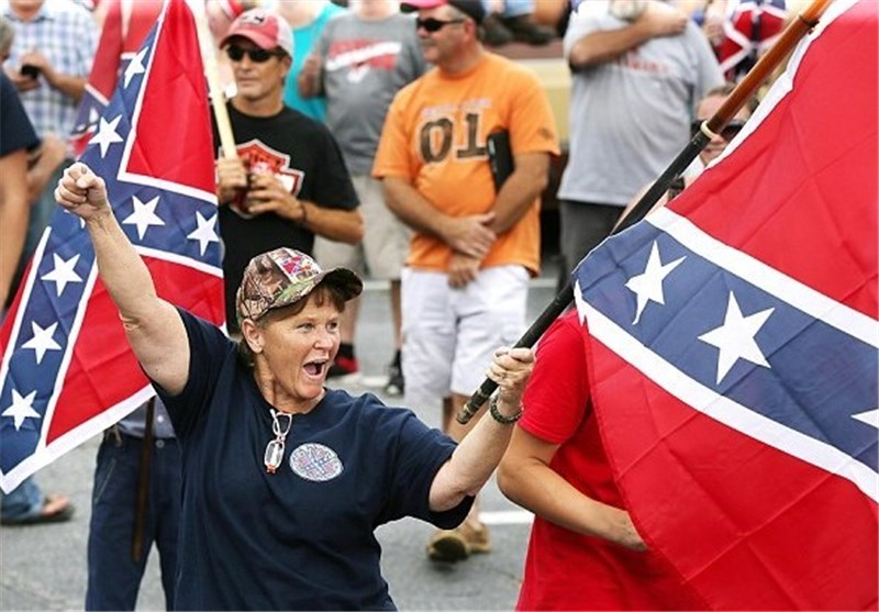 Angry Protests as Civil Rights Leaders Clash with Confederate Flag Supporters