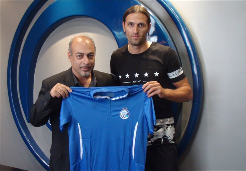 Croatian Striker Pejic Joins Iran's Esteghlal