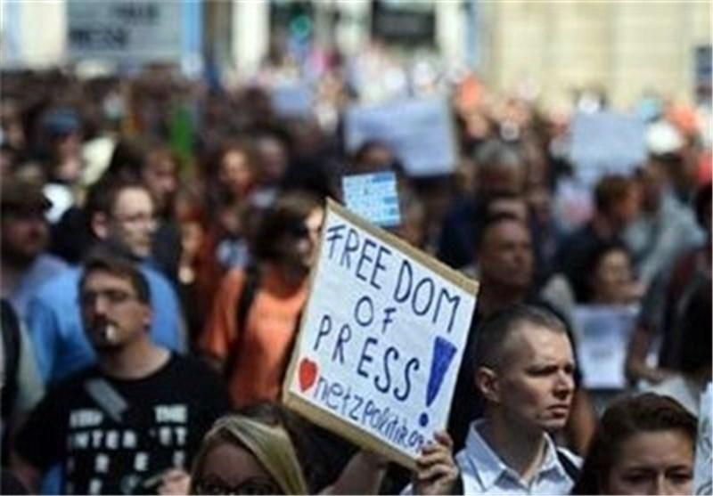 تظاهرات آلمان