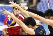دیدار تیمهای ملی والیبال چین و بحرین