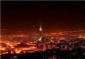 ساختمانهای پرنور در شبهای کم برق تهران + عکس