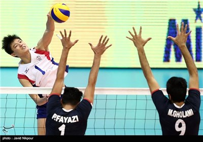 Iran Sweeps Chinese Taipei at Asian Senior Volleyball Championship