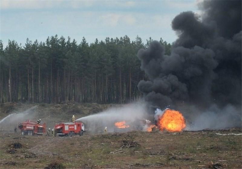 سقوط بالگرد در روسیه
