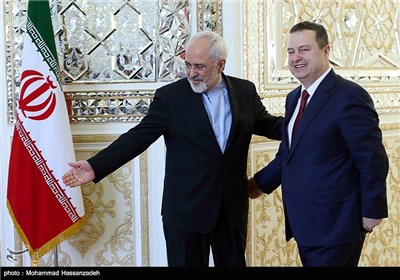 Iranian, Serbian Foreign Ministers Meet in Tehran