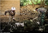 جهادگران بسیج سازندگی به روستاهای تنگستان اعزام شد
